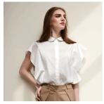 2018春夏荷叶袖衬衫