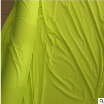 针织提花弹力网布 吸湿排汗弹力瑜伽服面料蝴蝶网布