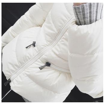 呛口小辣椒同款2016冬新款韩版女短款修身加厚立领羽绒服外套