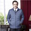 2017中老年男装轻薄款羽绒服秋冬季新款中年保暖羽绒外套一件代发