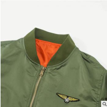 厂家直销2018新款男飞行员夹克外套韩版休闲棒球服嘻哈风帅气夹克