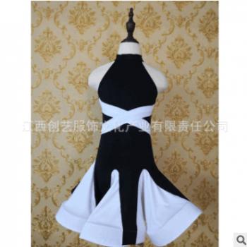 2018拉丁舞裙儿童女舞蹈服装少儿拉丁演出服儿童比赛表演练