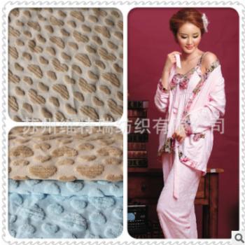 供应大量生产cvc70/30提花毛巾布