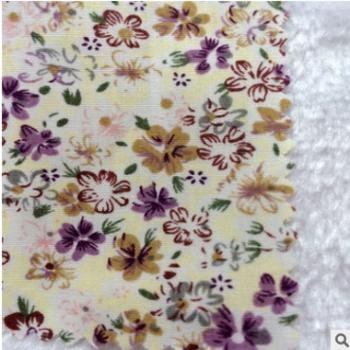厂家直销%100纯棉印花布箱包布料 抱枕布料 女装布料台布桌布