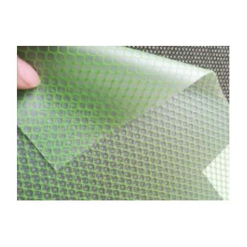 彩色半透明EAV夹网布 环保EVA六角夹网布 无毒塑胶EVA夹网布