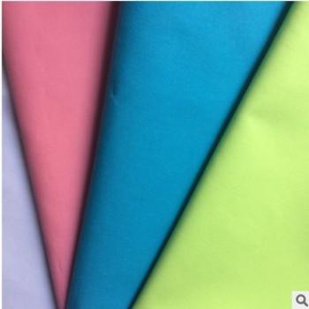 现货供应40支梭织纯棉布高密夫仿天丝衬衫面料平纹天丝棉服装布料