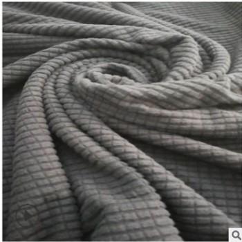 长期现货 单面格子绒布 双面毛巾布,用于玩具,服装,家居材料等