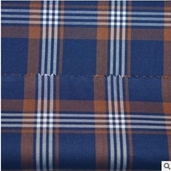GRANDE 高端休闲商务大格子衬衫面料 英伦风 628065