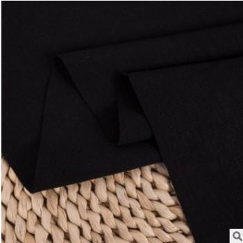 厂家直销 tr黑丝罗马布面料 380g针织弹力裤装时装布料