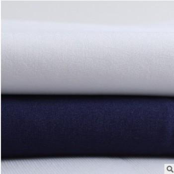 厂家现货涤氨混纺布 单面素色弹力汗布 春夏男女T恤打底衫面料