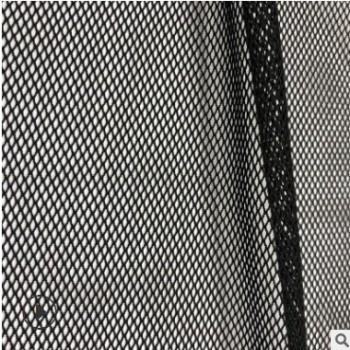 厂家直销70D尼龙面料弹力网眼布90克氨纶四角网涤氨菱形网现货