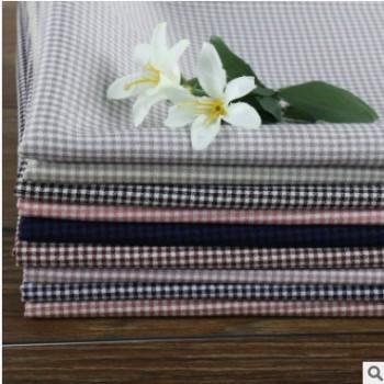 572系列11色聚酯纤维面料 涤纶针织提花面料 格子外套服装布料