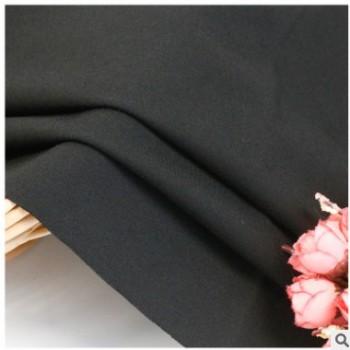 厂家直销470克40支黑丝罗马拉毛布秋冬保暖女裤男装针织面料现货