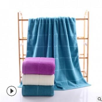 现货批发素色洁面巾舒适亲肤纱布浴巾加工洗脸吸水棉毛巾厂家直销