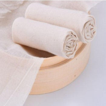 纱布布料 做豆腐清仓豆包布蒸笼纯棉面料白色纱布食用 过滤沙布网