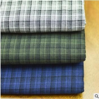 现货色织格子面料衬衫全棉多色色织特色时装衬衫裙子西装外套面料
