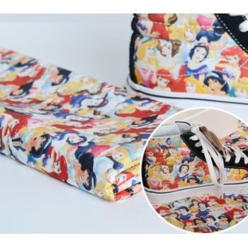 热销爆款全涤化纤8安印花帆布服装鞋材帽子箱包手袋沙发专用布