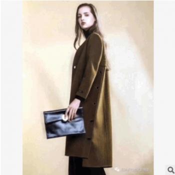 北京品牌韩嘉依羊绒大衣