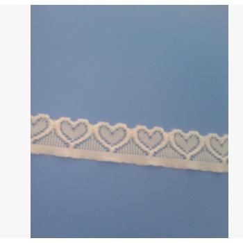 厂家出售 新款精美心形蕾丝花边 优质水溶蕾丝花边 蕾丝花边辅料