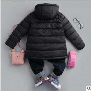 男童冬装棉衣加厚外套2018新款短款加绒棉袄中大童儿童羽绒棉服