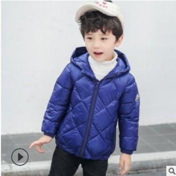 儿童冬装外套2018新款儿童轻薄款棉衣中小童宝宝棉服男女童轻薄款