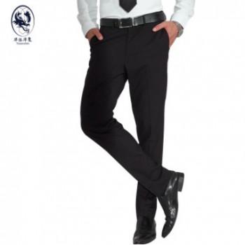 2018夏季新款英伦男士商务修身西裤韩版男式直筒时尚休闲裤西装裤