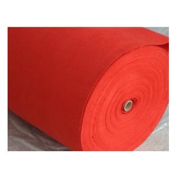 专业生产优质地毯喜庆红无纺基布厂家直销