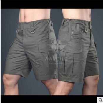 酋长魔蝎系列男款战术五分裤 户外运动速干短裤 休闲迷彩战术短裤