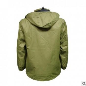 户外登山冲锋衣碳纤维加热智能电池供电发热外套保暖防风防水外套