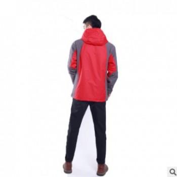 碳纤维加热户外登山冲锋衣智能电池供电发热外套保暖防风防水外套