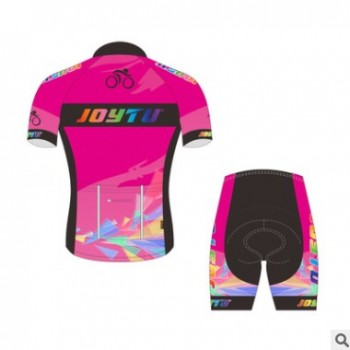 骑行服套装 短袖自行车服 夏季星恒骑行服装 骑行衣简约