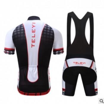 TELEYI 骑行服套装定制 热销骑行服 自行车赛车服装短袖骑行服 M2