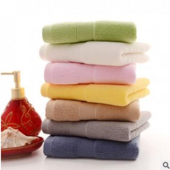 纯棉运动健身毛巾成人毛巾洗脸擦脸巾加大加厚吸水面巾酒店毛巾