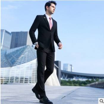 职业装套装男女同款西服套装 英伦风高档西装经理 4S店上班工作服