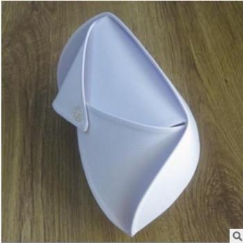 护士帽涤卡加厚款卫校实习帽白粉蓝护士长均码燕尾帽包邮