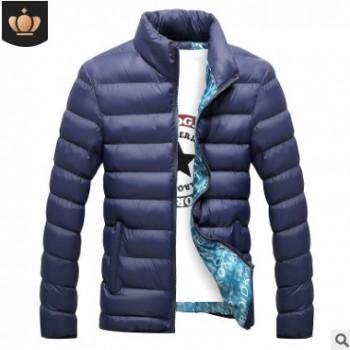 棉衣男新款韩版修身男士冬装外套立领男棉袄爆款羽绒棉服厂家直销