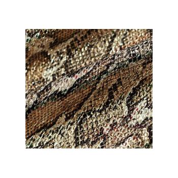 春秋广德隆纺织闪闪亮片蛇纹豹纹烫金冲片面料外套半裙连衣裙箱包