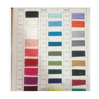 批发高品质环保纱线【2.3S/1空心带】大量色纱现货供应