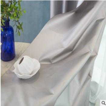 厂家直销涂银加厚双面银210D牛津布 汽车车衣遮光窗帘布批发