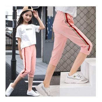 女童装服装代加工厂裤子小批量