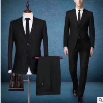 厂家直销商务男装英伦版职业正装西服套装男士西装量身定做
