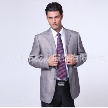 厂价直销西服加工厂大码西装定制工作服品牌西服套装商务