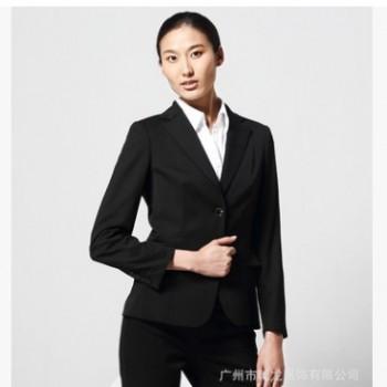 厂家定制爆款韩版女士西服正装OL气质 商务时尚职业女装套裙