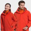 厂家直销户外冲锋衣男女情侣款两件套三合一登山服外套批发定制