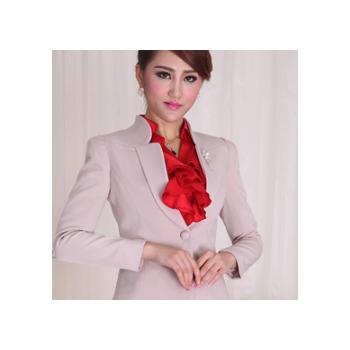 采琳轩 春秋新款 职业女装 韩版女西装套装时尚白领工作服批发