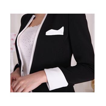 采琳轩 春秋新款 职业装 女装西装套装韩版时尚美容工作服制定