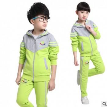 回正品牌2019童装春秋装韩版男女童运动套装中大儿童时尚套装