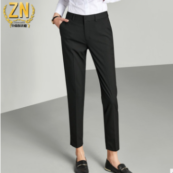 047款女士西裤商务OL 通勤裤弹性女裤职业装女西裤西装裤女加工