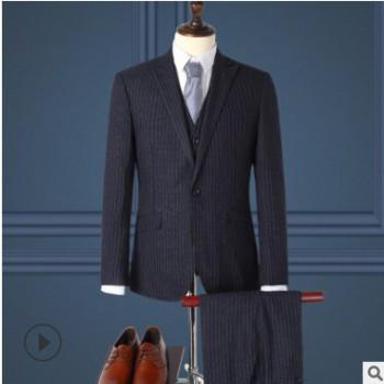 职业装套装男女工作服商务正装酒店保险4S店条纹西服4S店保险销售