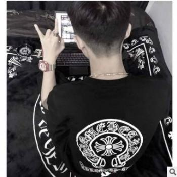 夏季短袖t恤男潮流体恤情侣装T恤韩版t恤宽松半袖男装上衣服T恤男